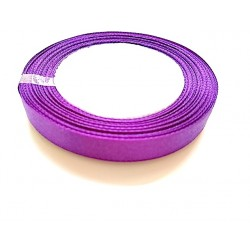 Ruban Satin Violet 12mm, 1 Rouleau(Env. 25 M/Rouleau)